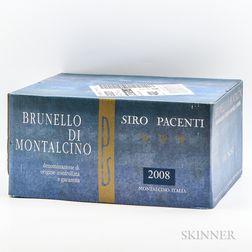 Siro Pacenti Brunello di Montalcino 2008, 6 bottles (oc)