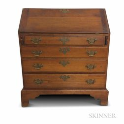 Queen Anne Cherry Slant-lid Desk