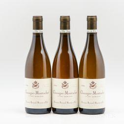 Bernard Moreau et Fils Chassagne Montrachet Morgeot 2006, 3 bottles