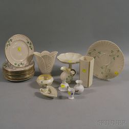 Group of Belleek and Lenox Tableware