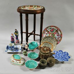 Sixteen Decorative Asian Items