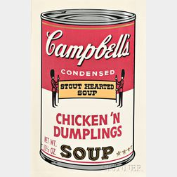 Andy Warhol (American, 1928-1987)      Chicken 'n Dumplings