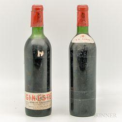 Chateau Latour 1967, 2 bottles