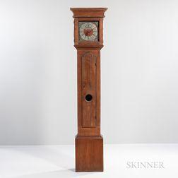 Walnut Tall Case Clock