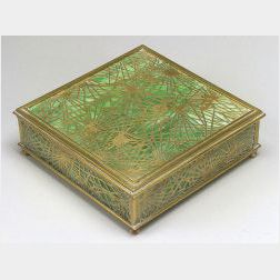 Tiffany Studios Desk Box