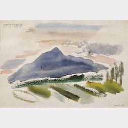 John Marin (American, 1870-1953)      Mt. Washington