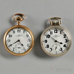 Two Ball Railroad Watches