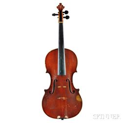German Violin, Heinrich Th. Heberlein, Jr., Markneukirchen, 1920