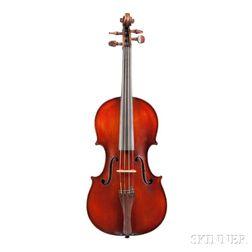 French Violin, Marc Laberte Workshop