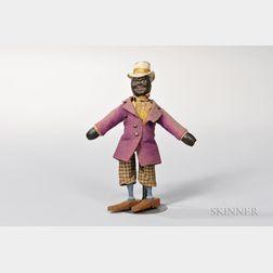 "Schoenhut ""Negro Dude"" Circus Figure"