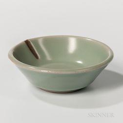 Small Celadon-glazed Dish