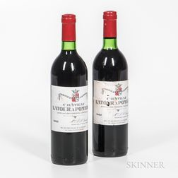 Chateau Latour a Pomerol 1982, 2 bottles