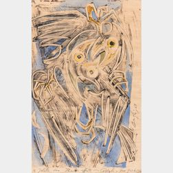 Corrado Cagli (Italian, 1910-1976)      Birds