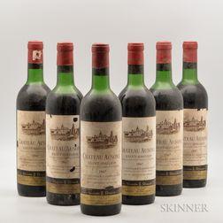 Chateau Ausone 1967, 6 bottles