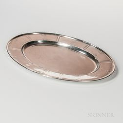 Durgin Sterling Silver Tray