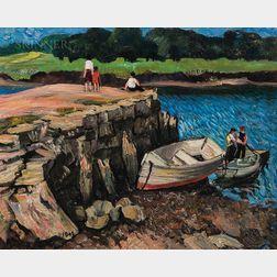 Richard Hayley Lever (American, 1876-1958)      Rockport