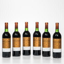Chateau Latour Haut Brion 1983, 6 bottles