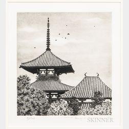 Tanaka Ryohei (1933-2019), Hokki-ji Temple