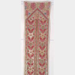 Greek Island Embroidered Textile