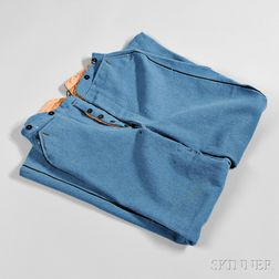 Pair of Civil War-era Possibly Confederate Officer's Trousers