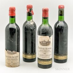 Chateau Ausone 1966, 4 bottles