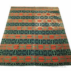 Two Woven Coverlets