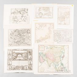 Fifty-nine Maps of Asia and Surrounding Islands