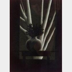 Robert Kipniss (American, b. 1931)  Window and Black Table,
