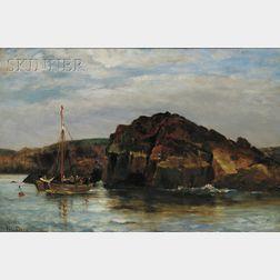 Walter Lofthouse Dean (American, 1854-1912)      Pope's Rock