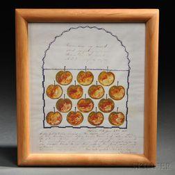 Framed Reproduction Shaker Print