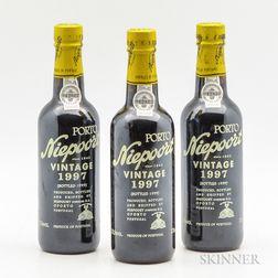 Niepoort Vintage Port 1997, 3 demi bottles
