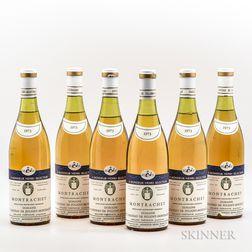 Roland Thevenin Montrachet 1973, 6 bottles