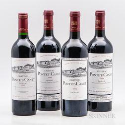 Chateau Pontet Canet, 4 bottles