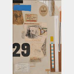 Robert Bruce Tague (American, 1912-1985)      Untitled II