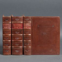 Royal Society, Great Britain. The Philosophical Transactions and Collections to the End of the Year 1700