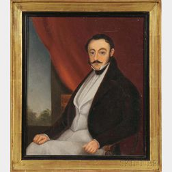 School of George Chinnery (English, Working in China, 1774-1852), Possibly Lamqua (China, 1801-1860), Portrait of China Trade Magnate H