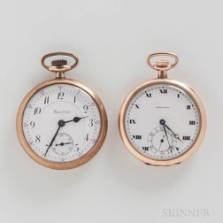 """Hamilton Watch Co. No. """"960"""" and """"914"""" Open-face Watches"""