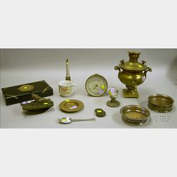 Group of Miscellaneous Decorative and Collectible Articles