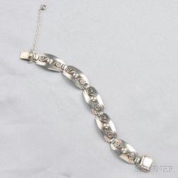 Sterling Silver Bracelet, Kalo