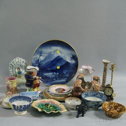 Group of Mostly Porcelain, Pottery, and Ceramic Items