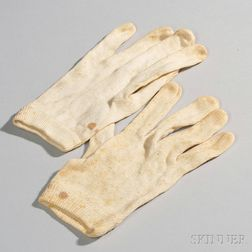 Civil War-era Gloves Identified to Franklin W. Chenery, 44th Massachusetts Volunteer Infantry