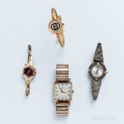 Four Women's Fashion Watches