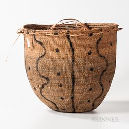 Large Amazonian Burden Basket, Wil