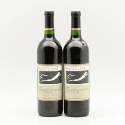 Frogs Leap Cabernet Sauvignon 1997, 2 bottles
