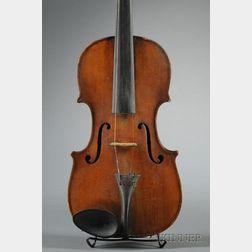 German Violin, possibly Hopf Family, c. 1820