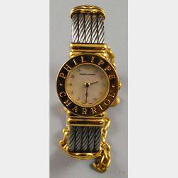 """Lady's Philippe Charriol """"St. Tropez"""" Wristwatch"""