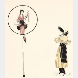 Romain de Tirtoff, called Erté (French, 1892-1990)      Fantaisie