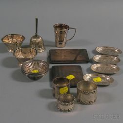 Group of Assorted Small Mostly Sterling Silver Items