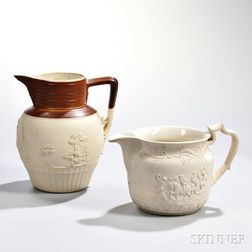 Two Turner Stoneware Pitchers