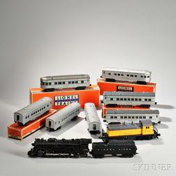 Lionel Train Steam Passenger Set #1484WS